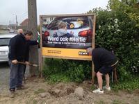 #Helfie campagne in Bree